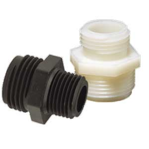 Tuff-Lite™ Male GHT x Male NPT Adapter