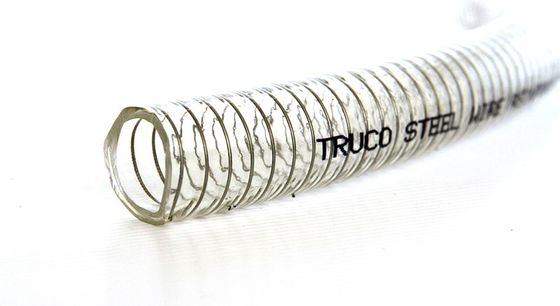 Truco-Steel Clear PVC Suction Hoses