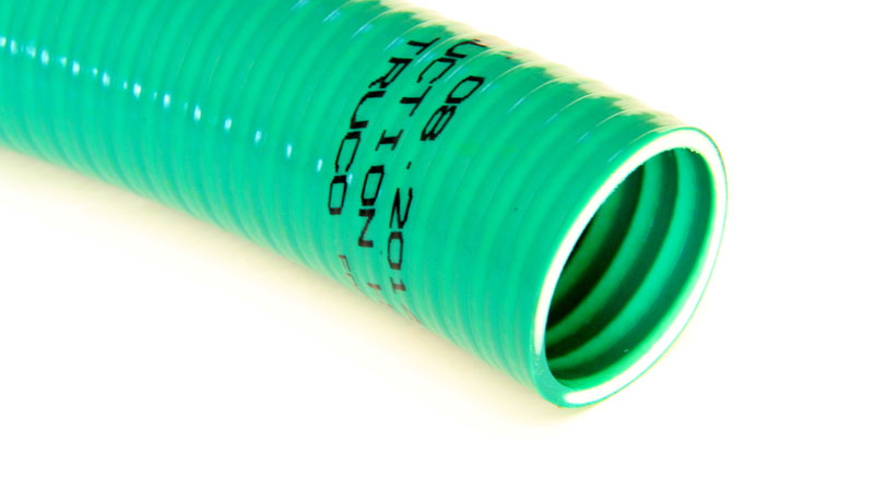 Green HD PVC Suction and Delivery Hoses