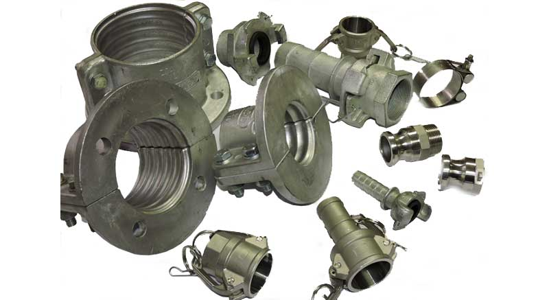 Hose fittings and clamps