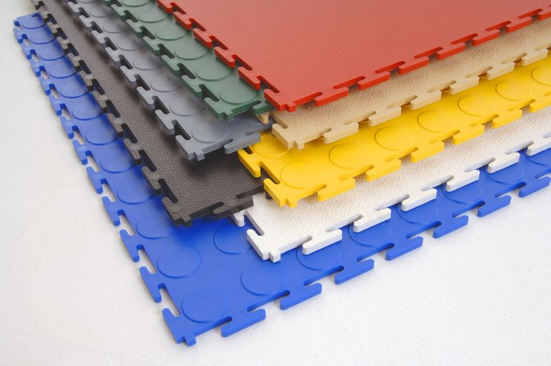 PVC interlocking mats