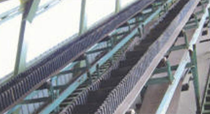 Steep Incline Rubber Conveyor Belts
